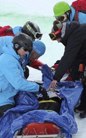 Queralt Castellet recibió el alta médica tras su accidente