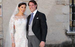 La sencilla boda religiosa de Félix de Luxemburgo y Claire Lademacher