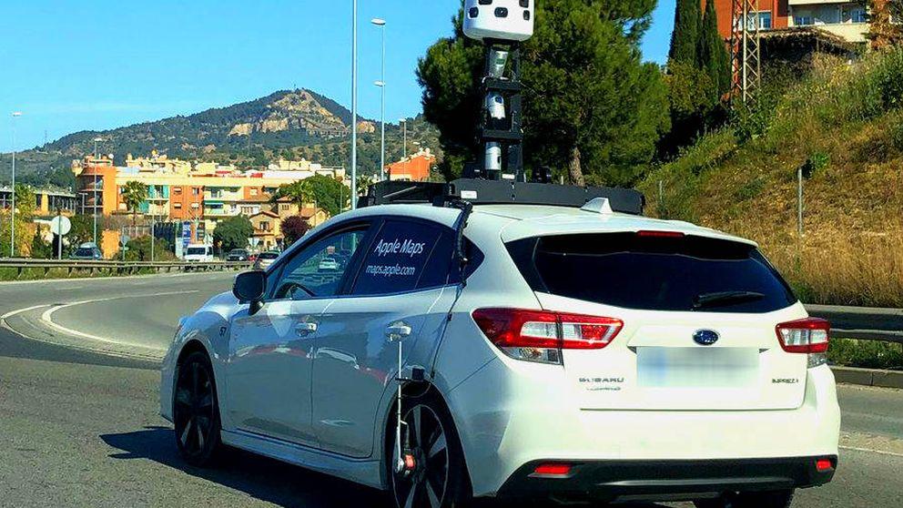 Qué hacen los coches de Apple Maps en España y por qué los seguiremos viendo