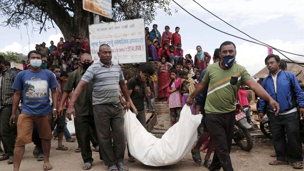 Katmandú, un gigantesco crematorio