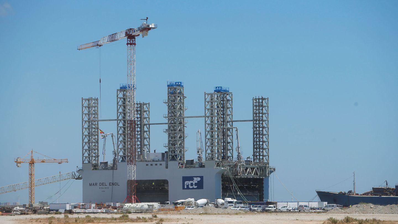 Mar del Enol, una de las obras de Fomento de Construcciones y Contratas (FCC), en Algeciras. (Reuters)