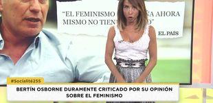 Post de María Patiño da la puntilla a Bertín tras su polémica sobre el feminismo