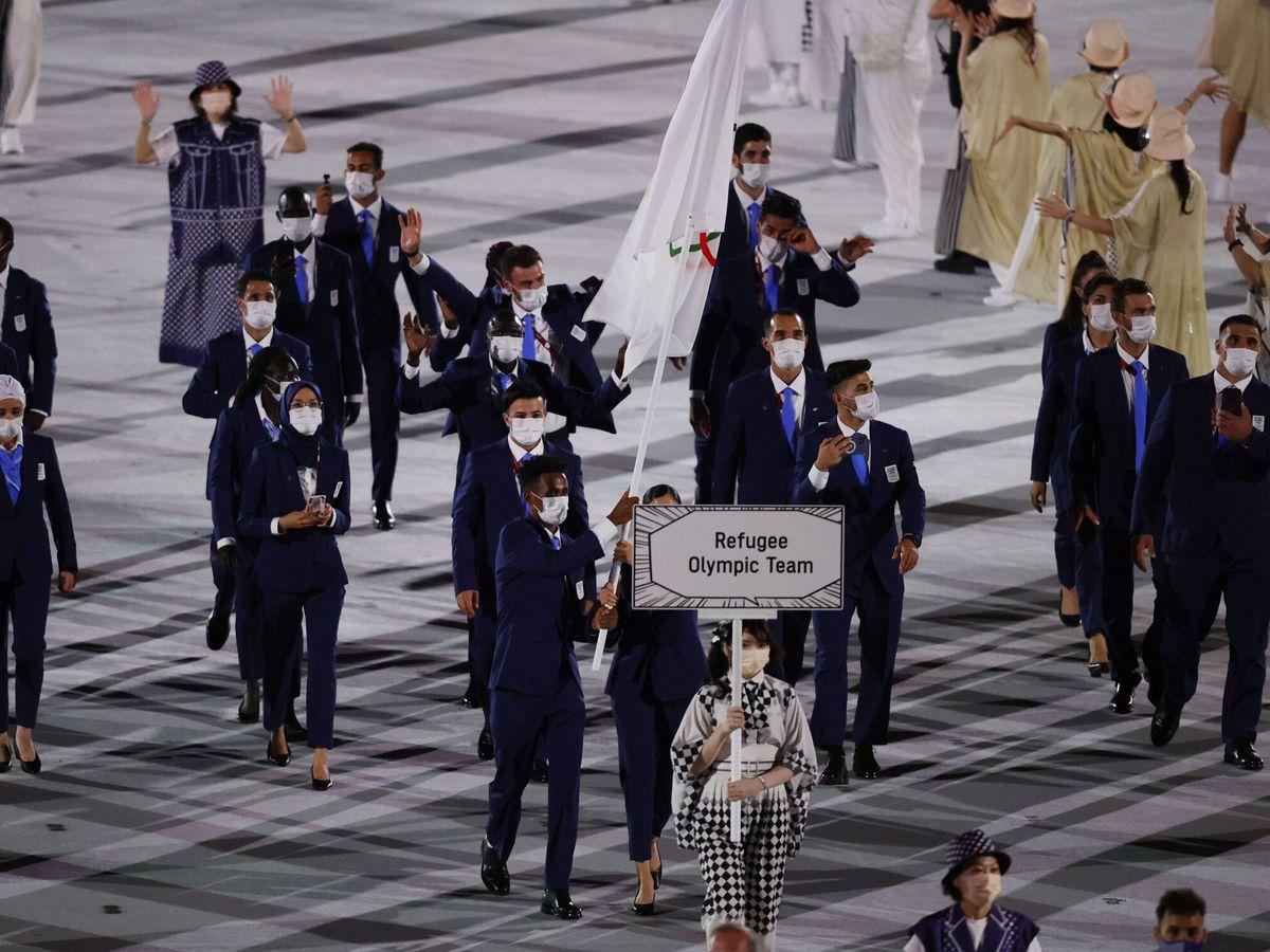 Foto: Yusra Mardini, abanderada del Equipo Olímpico de Refugiados. (Reuters)