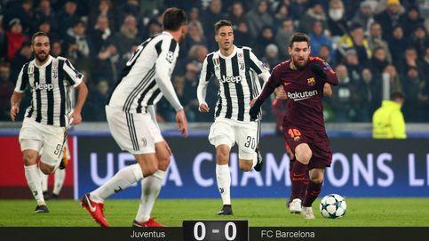 Sin Messi, sin gracia y sin esfuerzo, el Barça empata en Turín y es primero de grupo
