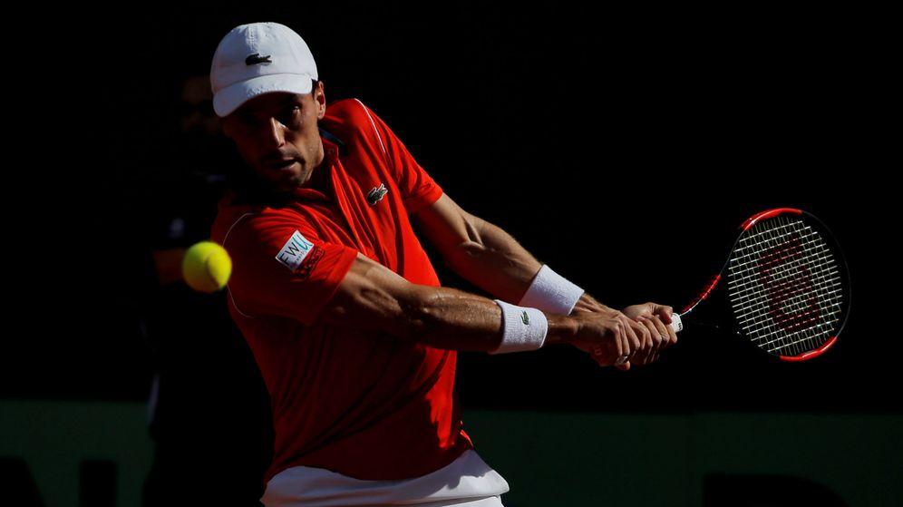 Foto: Roberto Bautista, jugando contra Norrie. (Reuters)