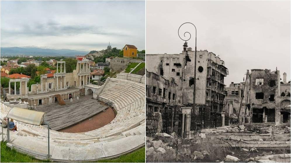 Foto: Imágenes de Plovdiv y Alepo, dos de las ciudades más antiguas del mundo. (El Confidencial)