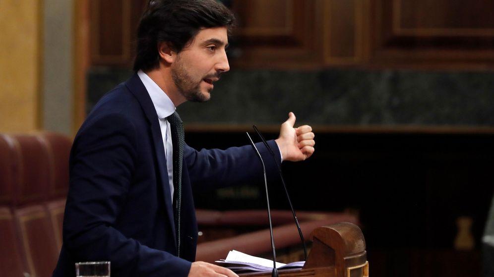 Foto: Toni Roldán, en una intervención en el Congreso de los Diputados. (EFE)