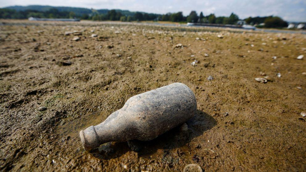 La sequía no solo asusta en España: el río Rin se 'seca' en Alemania