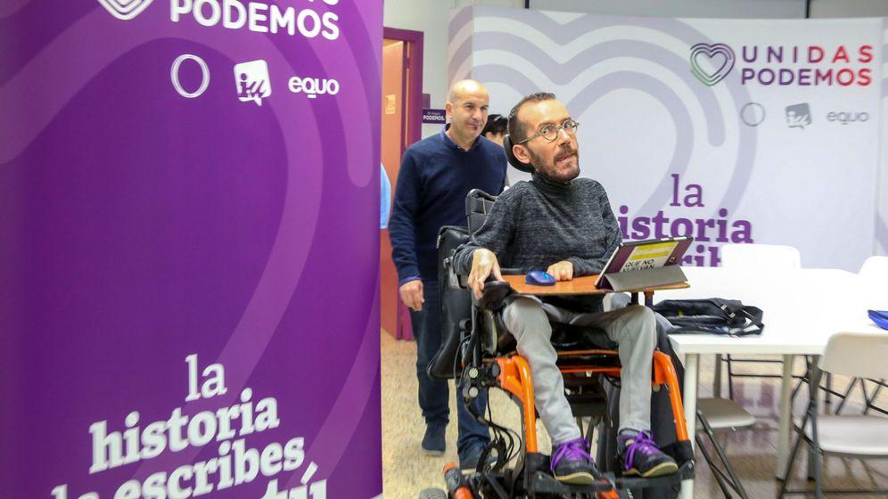Foto: El diputado de Unidas Podemos Pablo Echenique. (EFE)