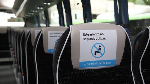 Alsa desarrolla su plan de movilidad para poder viajar en autobús de forma segura