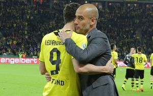 Lewandowski quiere poner fin al 'mal del nueve' que sufre Guardiola