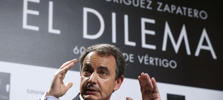 Foto: José Luis Rodríguez Zapatero presenta su libro 'El Dilema' (EFE)