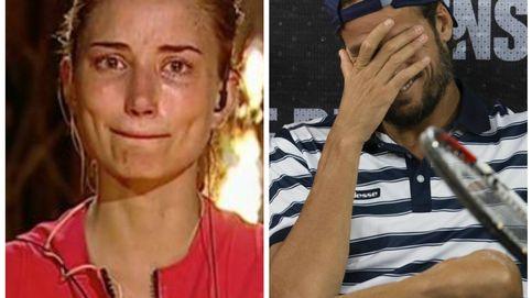 El 'Sonrisas y lágrimas' de Feliciano López y Alba Carrillo