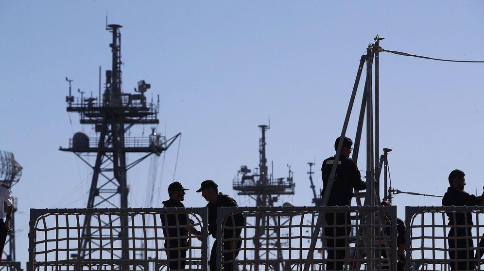Foto: La cubierta del buque. (EFE)
