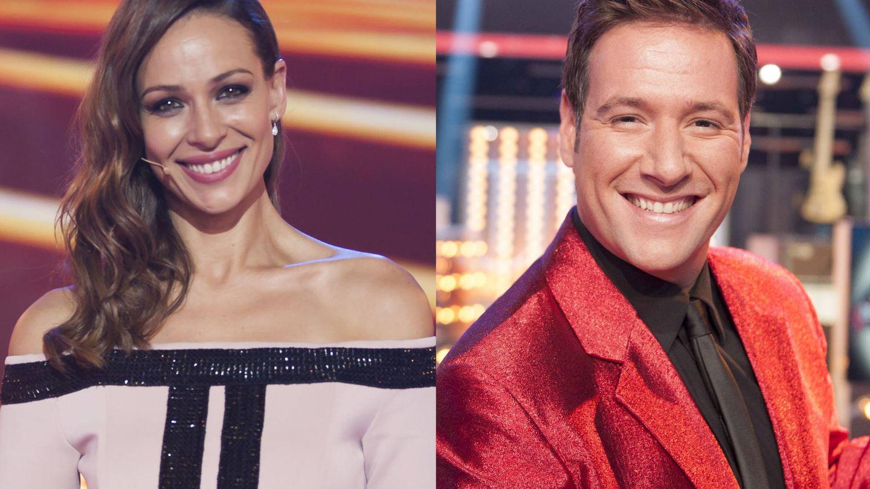 Eva González y Carlos Latre, en el especial de Nochevieja en TVE.