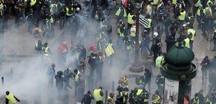 Post de Cargas y gases contra los chalecos amarillos rompen la calma tensa en París