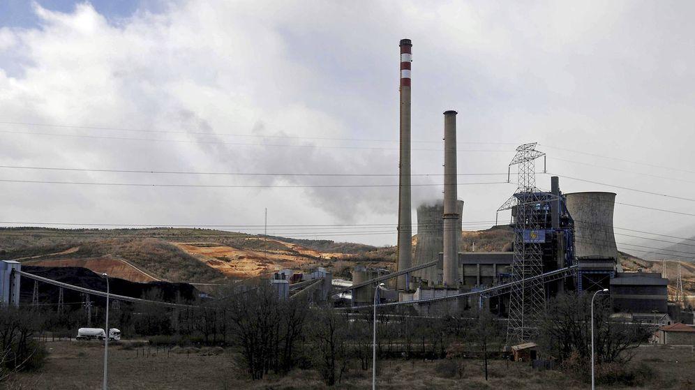 Foto: Central eléctrica en León. (EFE)