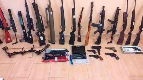Un hombre detenido en Boiro tras difundir un vídeo sobre cómo modificar un rifle