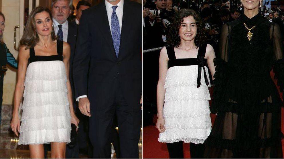 El vestido de Letizia ya lo llevó Ivana Baquero (Laberinto del Fauno) con 12 años
