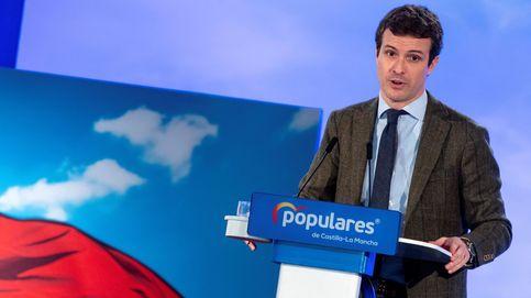 Casado pide un voto fuerte frente a la opción de Sánchez y los independentistas