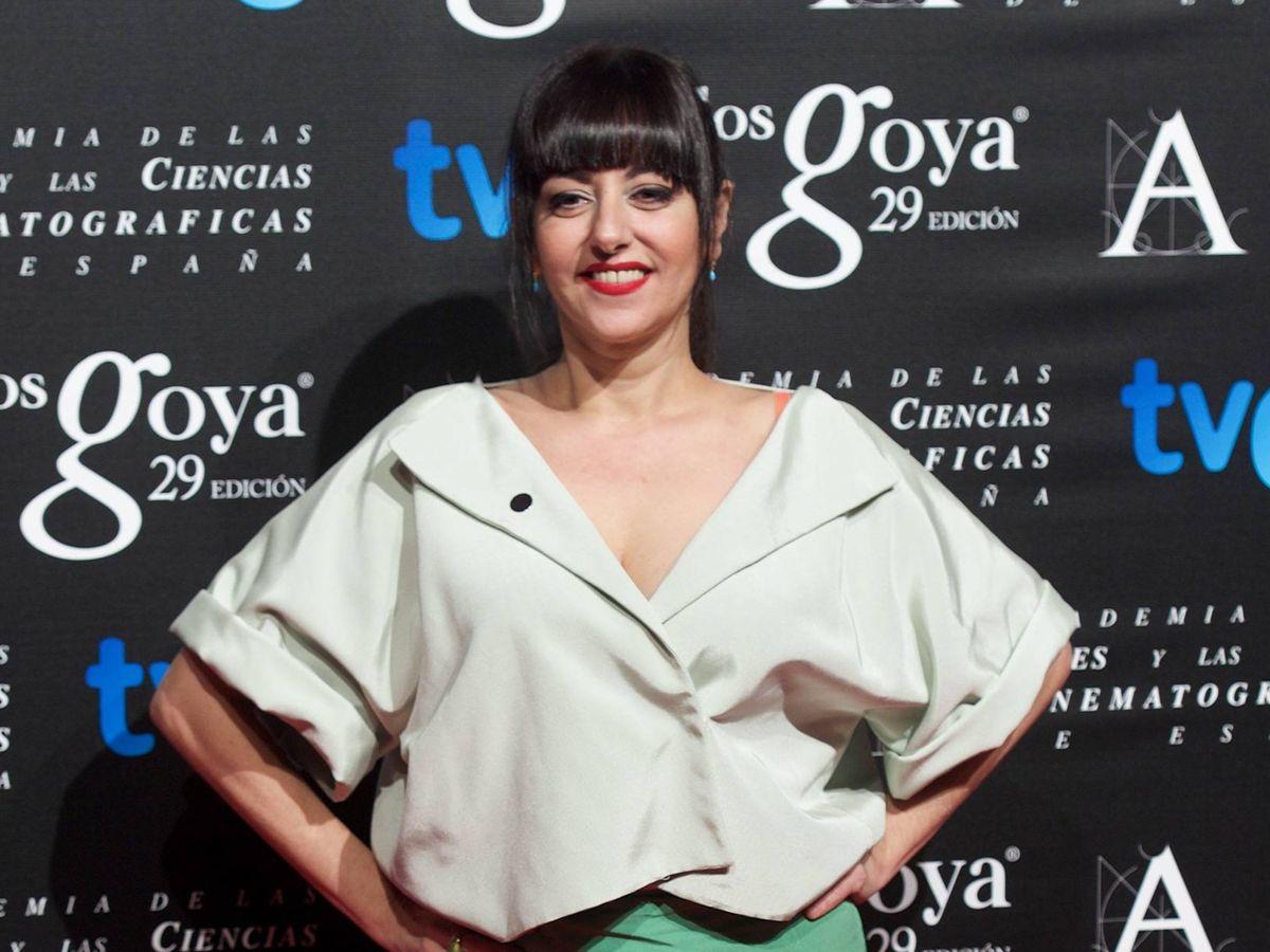 Foto: Yolanda Ramos, en la fiesta de los nominados a los Goya en 2015. (Getty)