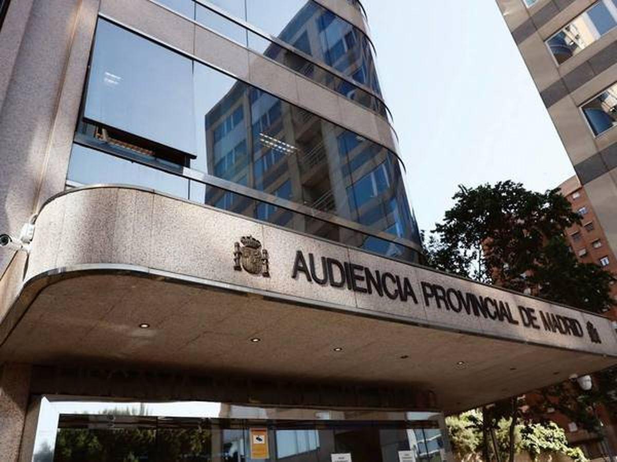Foto: Audiencia Provincial de Madrid.