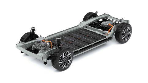Hyundai desvela su plataforma eléctrica de baterías E-GMP