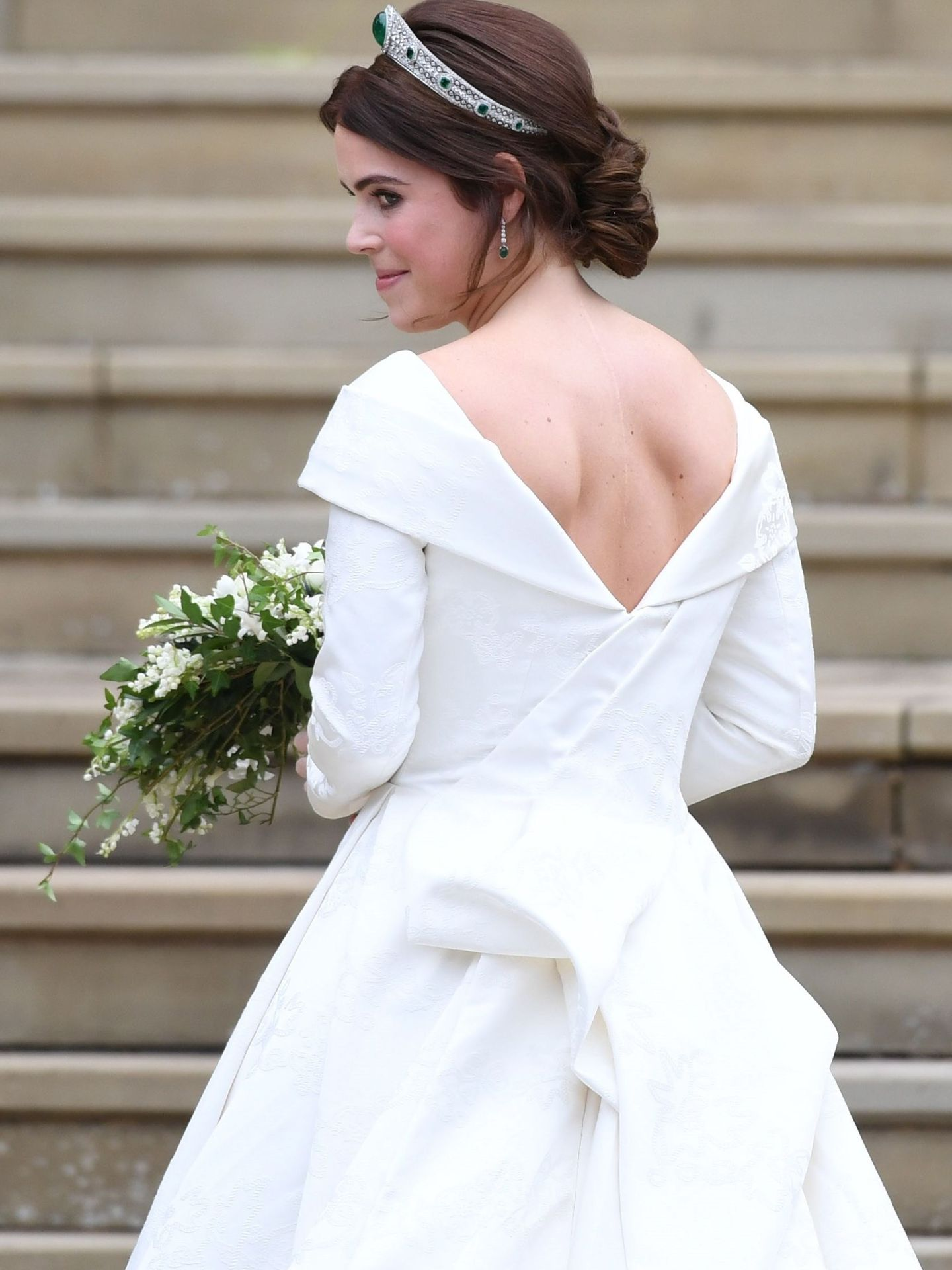 La princesa Eugenia se casó el pasado octubre. (EFE)