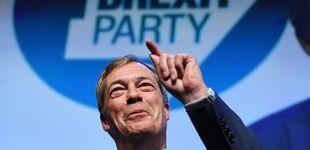 Post de Farage lidera todas las encuestas para las europeas: ¿quién financia el Brexit Party?