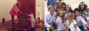 Foto: Paulina Rubio bautiza a su hijo sin Colate