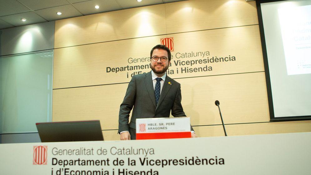 Foto: El vicepresidente y 'conseller' de Economía de la Generalitat, Pere Aragonès. (EFE)