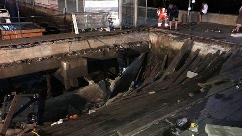 Así ha sido el accidente en el festival 'O Marisquiño' de Vigo