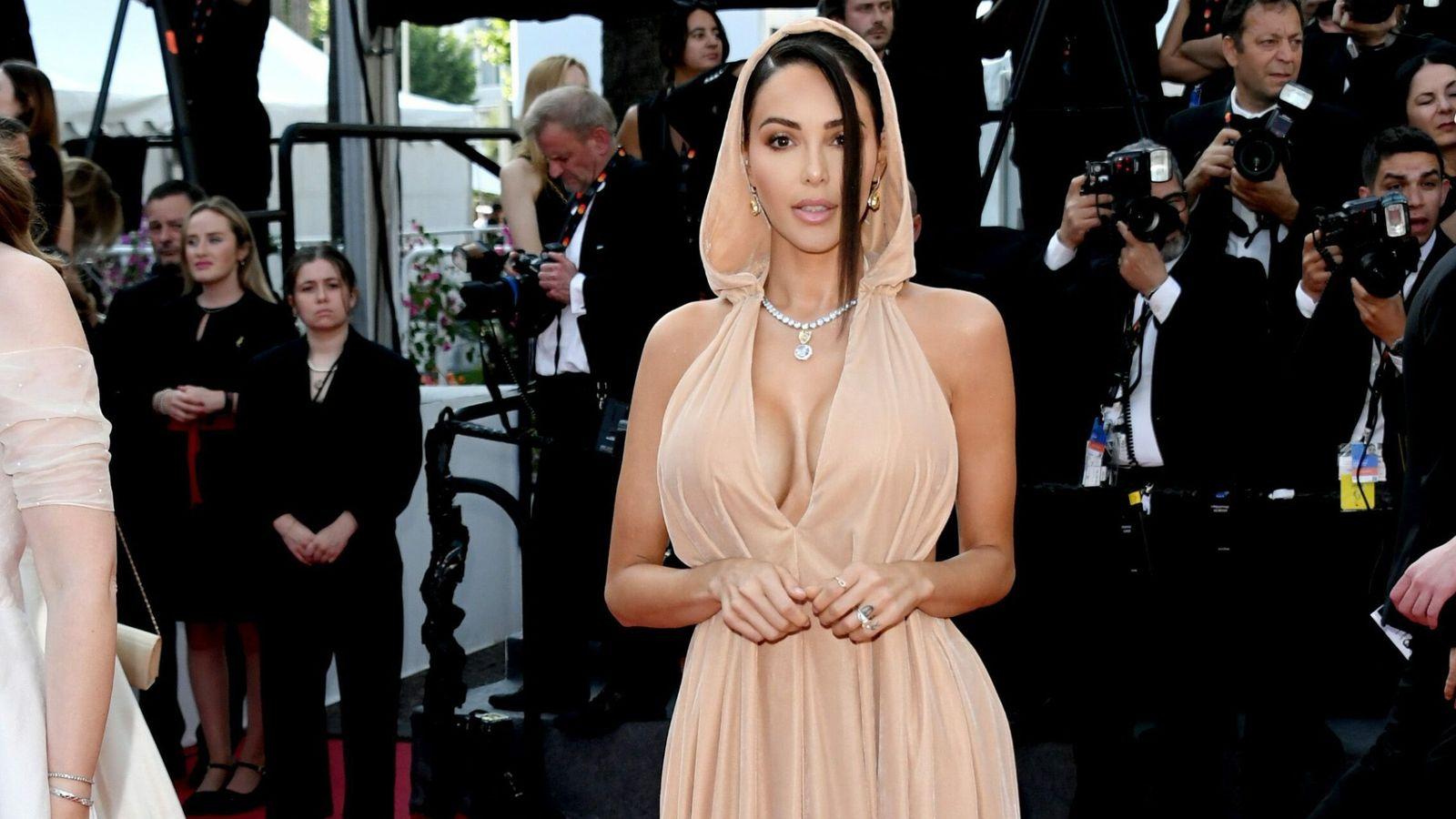 Foto: Wright y Spacey en el estreno de una de las temporadas de 'House of Cards'. (Cordon)