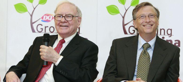 Foto: Warren Buffett y Bill Gates, dos de los hombres más ricos del mundo. (Corbis)