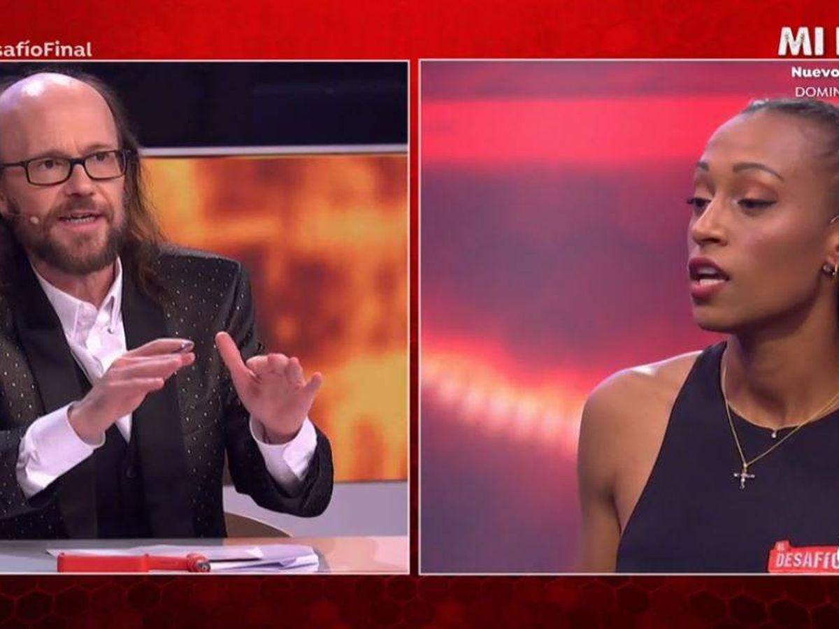 Foto: Santiago Segura y Ana Peleteiro, en 'El desafío'. (Atresmedia Televisión)