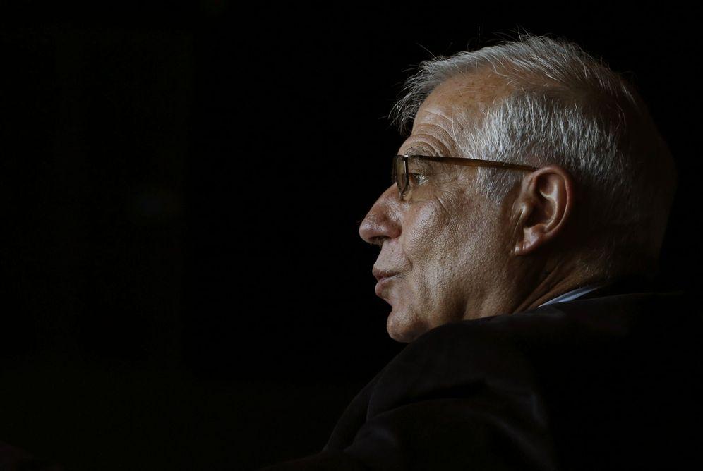 Foto: El exministro y expresidente del Parlamento Europeo Josep Borrell, el pasado 20 de febrero en Madrid. (EFE)