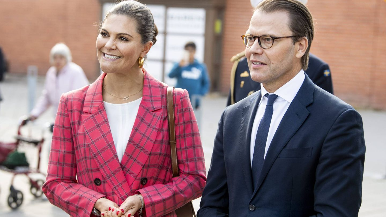 Victoria y Daniel de Suecia. (Cordon Press)