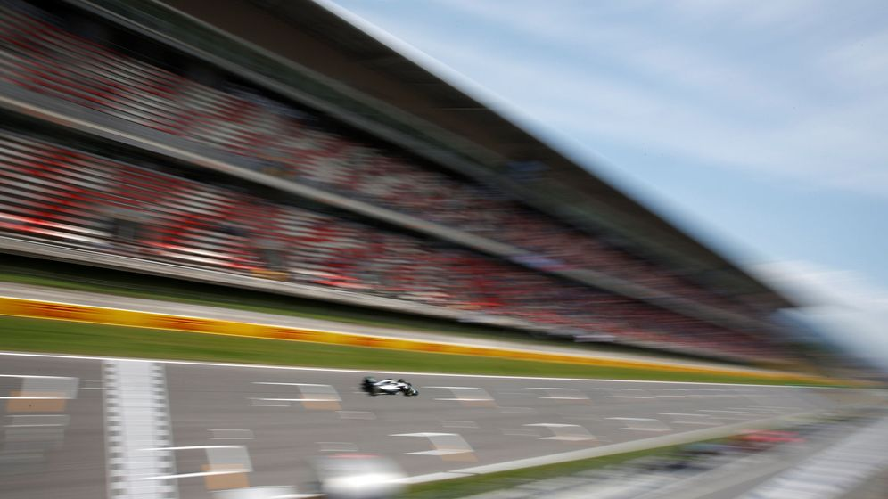 Foto: Lewis Hamilton, el pasado año en el Circuit de Barcelona-Catalunya. (REUTERS)
