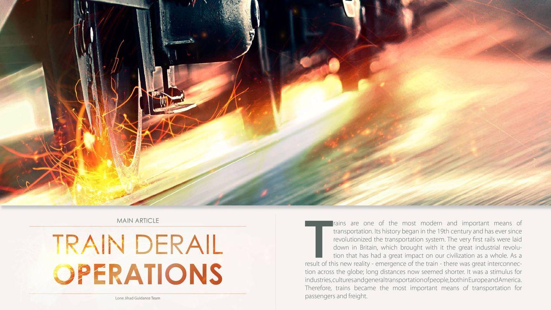 Al Qaeda difunde un manual en el que insta a sus seguidores a descarrilar trenes