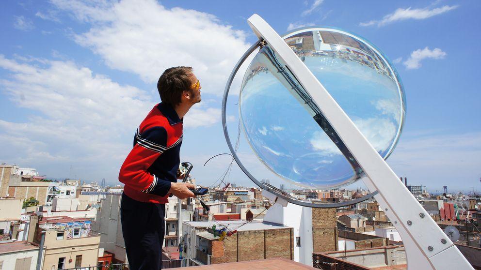 Esferas de cristal para producir energía mediante el efecto lupa