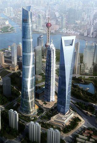 Foto: Shanghai se prepara para conquistar el cielo