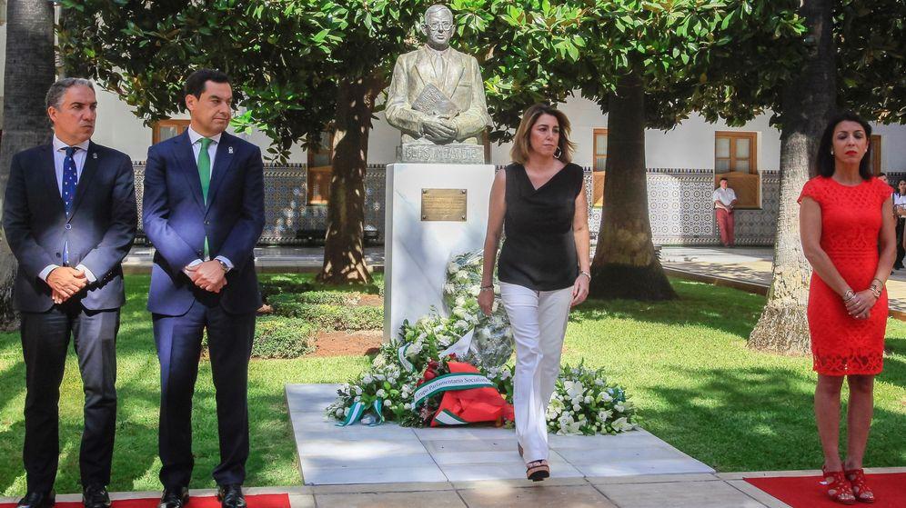 Foto: Homenaje al padre de la patria andaluza. (EFE)
