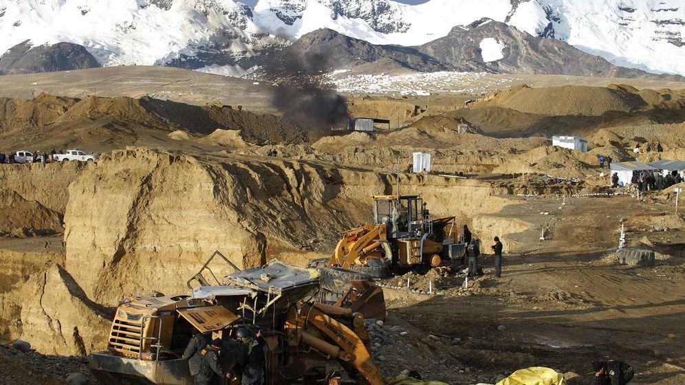 Foto: Operativo de interdicción contra la minería ilegal. (EFE)