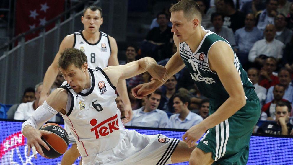 Foto: Nocioni acabó con 7 puntos (EFE)