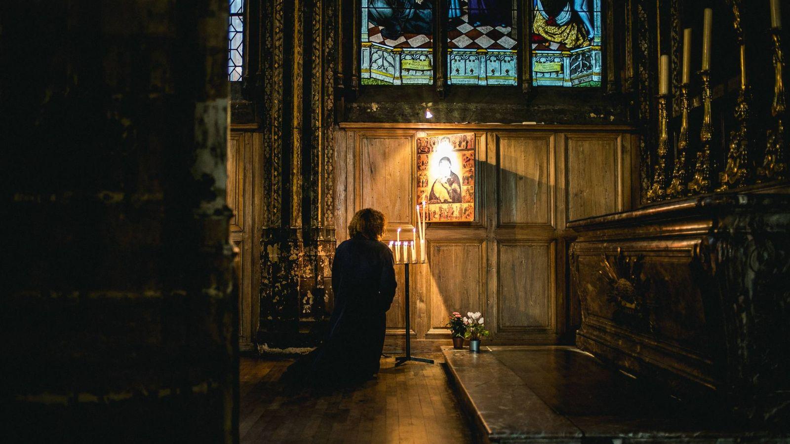Foto: La iglesia francesa de Saint-Séverin (Unsplash)