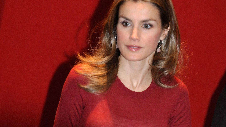 La reina, en un congreso en Bilbao en 2012. (Getty)