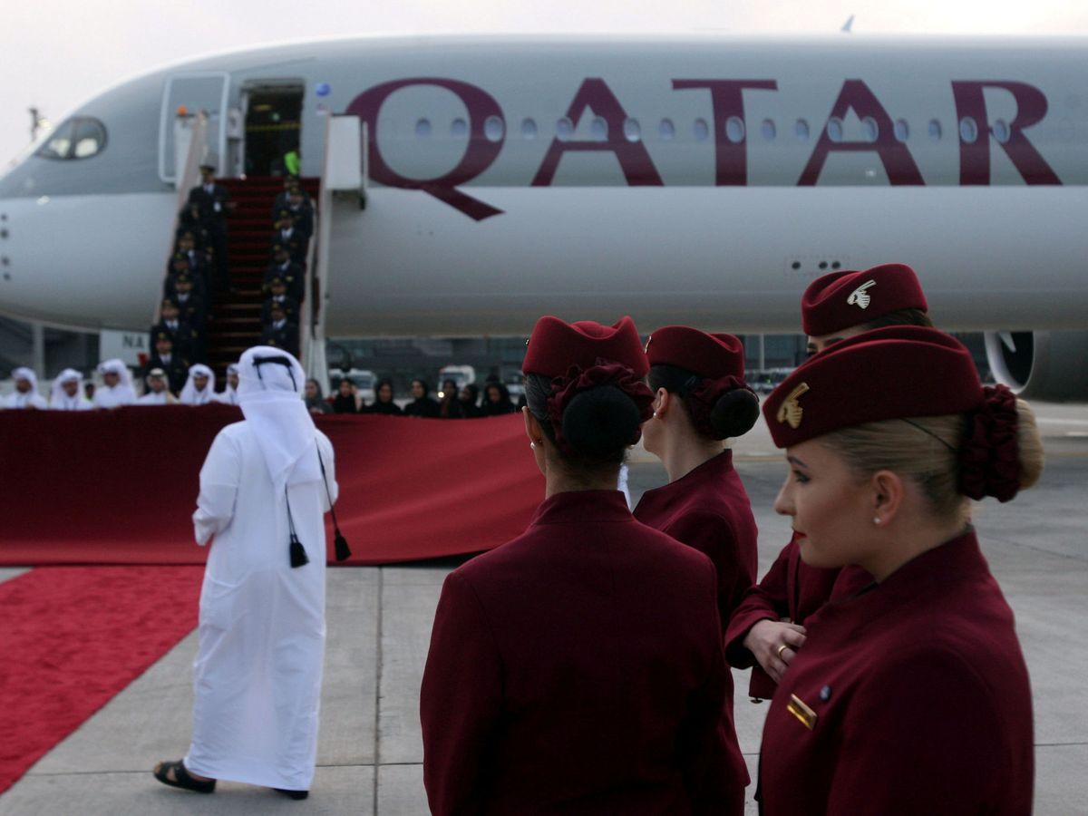 Foto: Catar ha tirado la casa por la ventana mejorando su aeropuerto y su aerolínea de bandera (Reuters/Naseem Zeitoon)