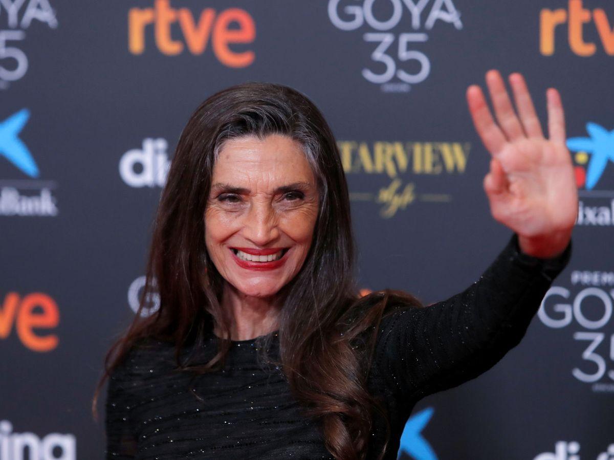 Foto: Ángela Molina, en los Premios Goya. (Reuters)