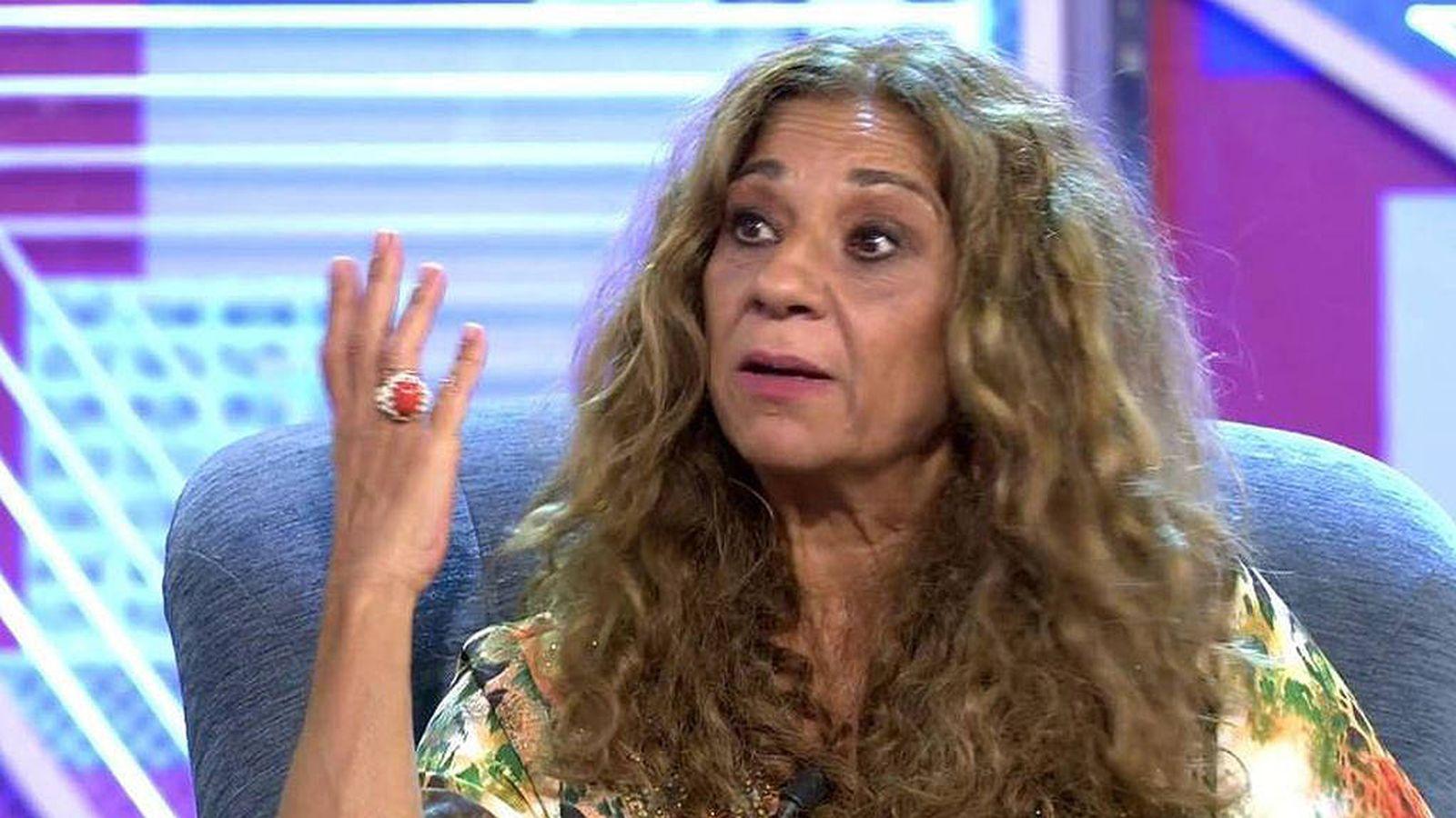 Foto: Lolita Flores, en 'Sábado Deluxe'. (Telecinco)