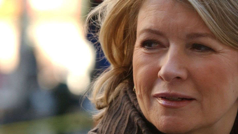Martha Stewart durante su juicio. (Getty)